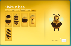My bee avatar