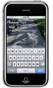 App screen shot